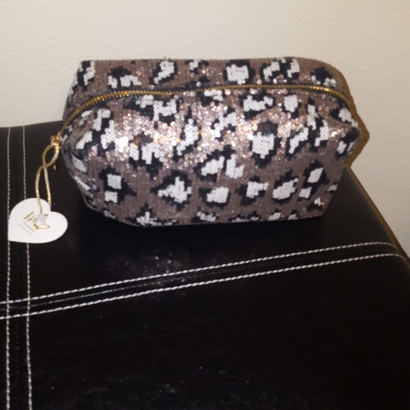 ❤NWT Imoshion Sequined Style Cosmetic Bag❤